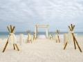 Wedding Installation On The Caribbean Beach